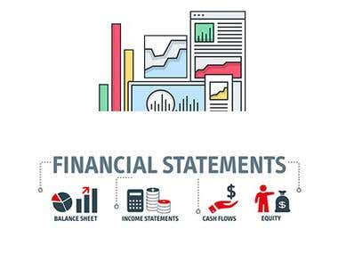 Financial Statements - Profit & Loss - Balance Sheet - Flows