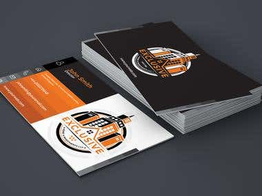 Logo and business Card Design for Real Estate