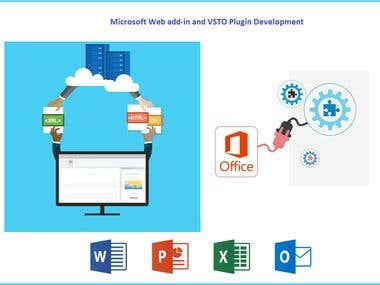 Microsoft Web add-in and VISTO Plugin Development