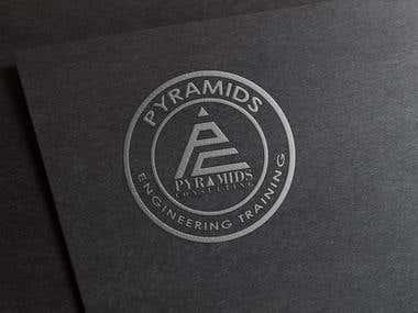 "Creat A Seal For ""Pyramids Consultig Company"""