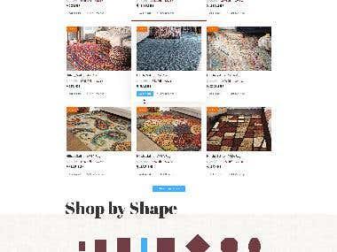 Online shop Caspian Rugs Centre