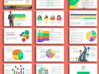 Annual Report Design For a Presentation