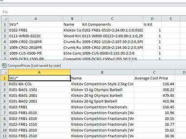 Create a database for NETO