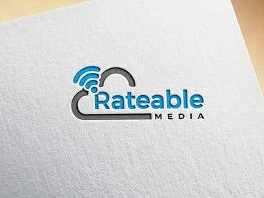 """Design a logo for a website called """"Rateable Media"""""""
