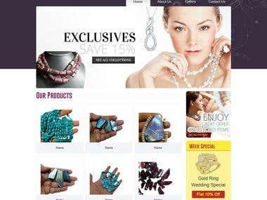 Wali Gems Static Web Site