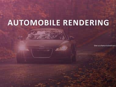 Automobile Renderings and Concept Design