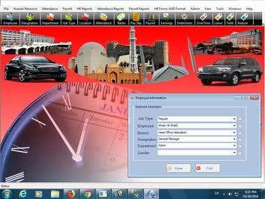 Desktop Based Pay Roll Application