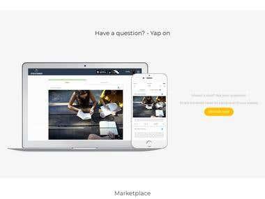 Website for startup - ASP .Net MVC