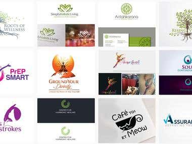 Holistic health Logos