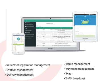 Products Delivery Management Solution