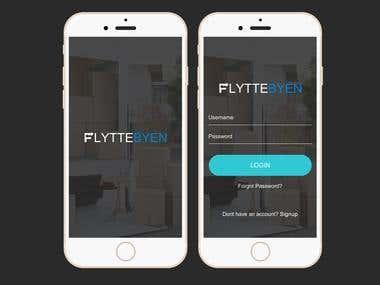 FlytteByen App