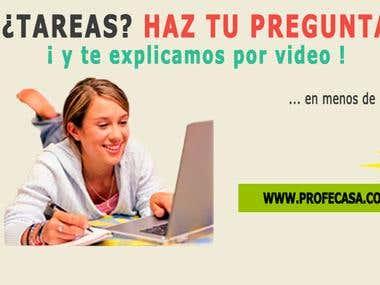 Profecasa.com (Php(Laravel), Jquery, Bootstrap, Css3, Mysql)
