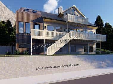 Arch 3D modeling & renderings