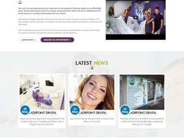 Wordpress web site