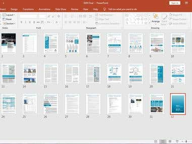 Report Template - Powerpoint