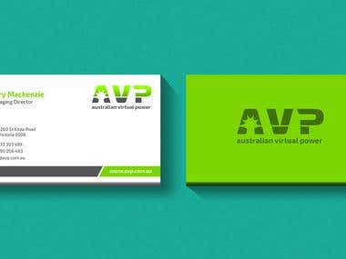 Business Card Portfolio