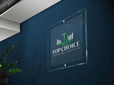 TOP CHOICE LANDSCAPING LOGO