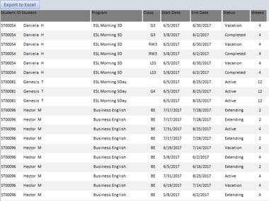 School Database