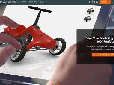 Canvas Gadget 3D