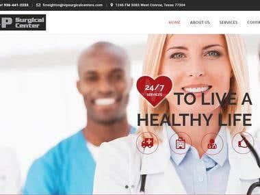 Medical wordpress site