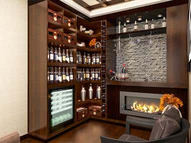 ROOM OF WINE AND CIGARS