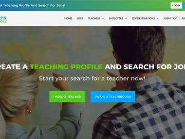 Teach & Explore website