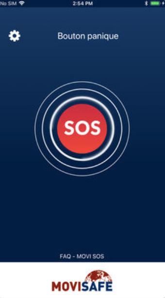 Movi SOS mobile app