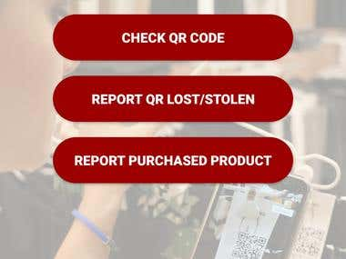 QR code scanning and location tracking