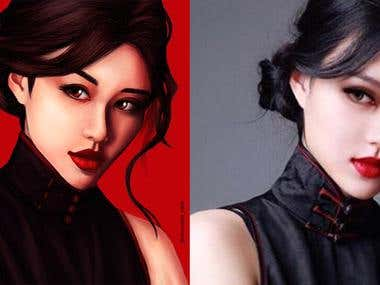 Portrait | Caricature | Profile Picture | Realistic Painting