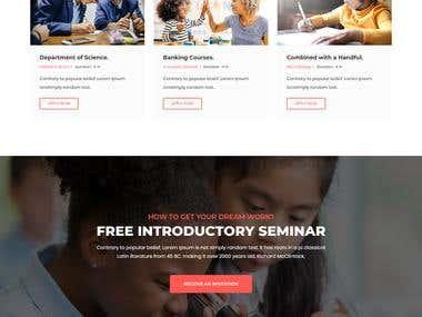 Educationsl Website