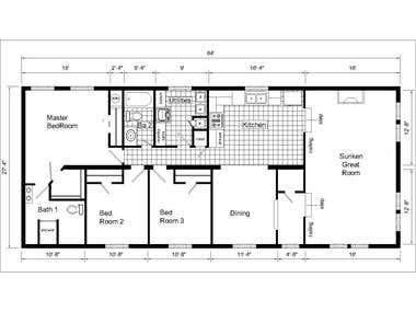 2D HOUSE PLAN