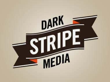 Logo Design & Identity Creation for DARK STRIPE MEDIA