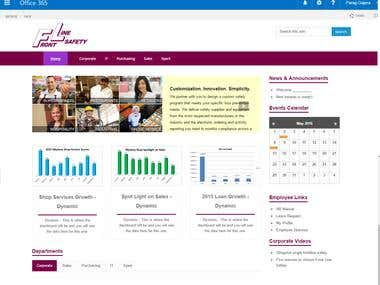 8. SharePoint branding with Custom webparts, forms & WFs
