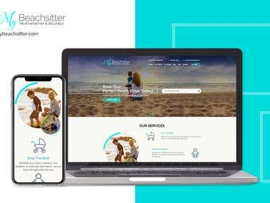 Mybeachsitter - Laravel website