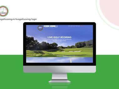 Life Golf Scoring | CakePHP Website