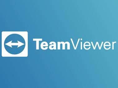 Refonte de popup pour teamviewer