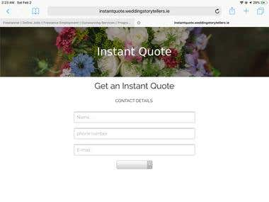 Interactive quotation