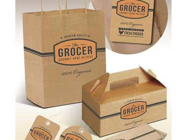 The Grocer Packaging Design