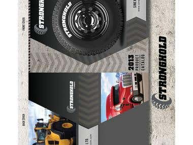 Stronghold Tyres Logo And Brochure