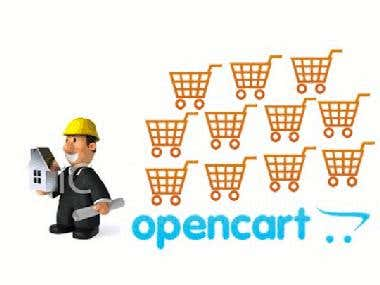 iOS app based OpenCart