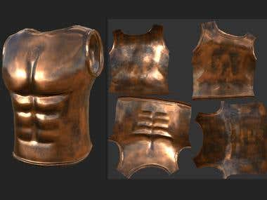 Basic Copper Armor & Leather Boots