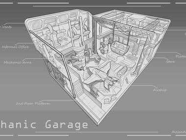 Mechanic garage