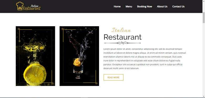 Online Restaurant System | Freelancer