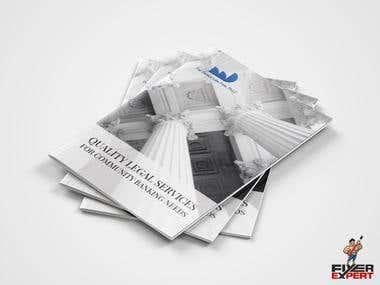 Brochure designs.