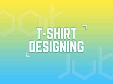 T-shirt Designing (designs inside)