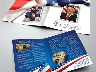 3D Bi-fold Brochure Designs
