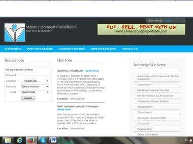 online placement. like naukari.com
