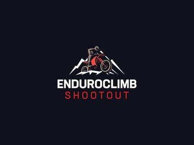 Enduroclimb shootout logo design