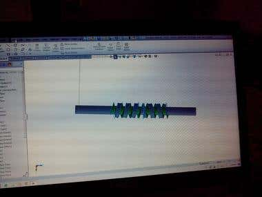 Solidworks modeliing