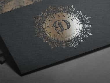 """Letter """"D"""" """"diamante"""" Logo"""